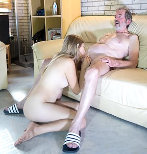 Old Man and Young Porn Pictures